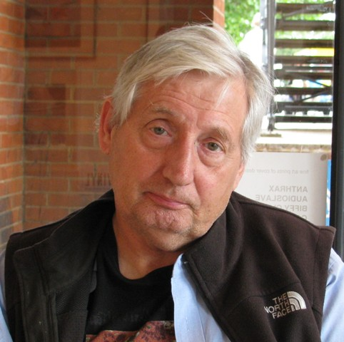 Storm Thorgerson in 2010. Photo:  Creative Commons Attribution-Share Alike 3.0/Wikipedia user Jheald