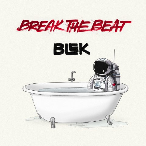 'Break The Beat' EP artwork by Nishlesh Patil