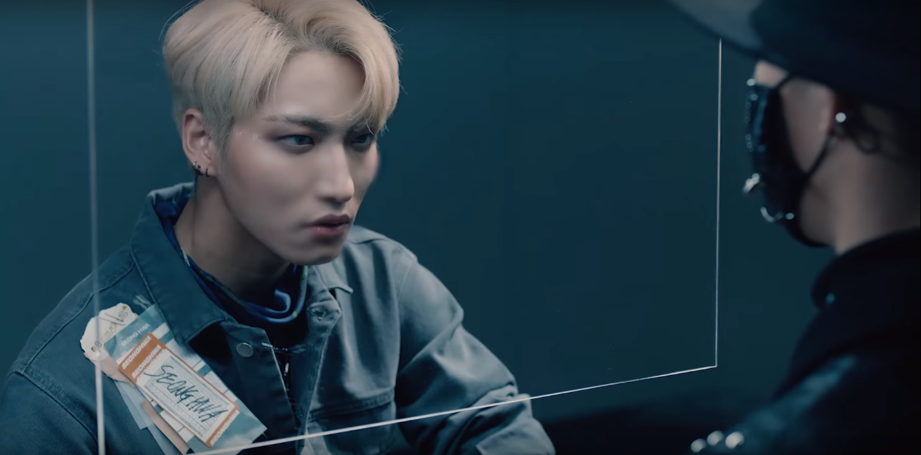 watch ateez confront their inner demons in the video for  u0026quot say my name u0026quot
