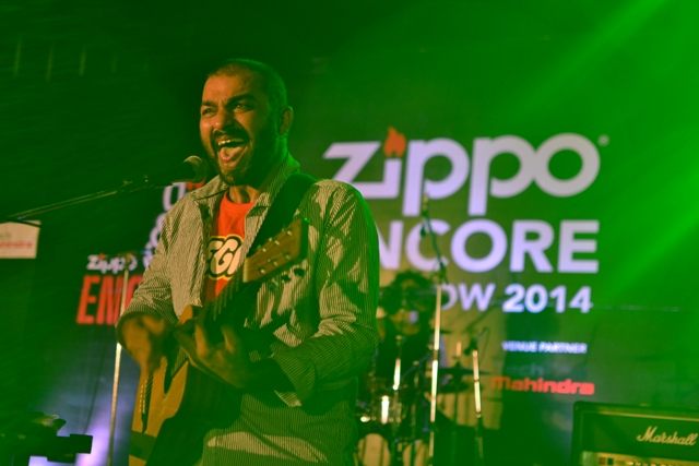 Ankur & The Ghalat Family's Sidd Coutto switched to an acoustic guitar after playing the mandolin like a pro