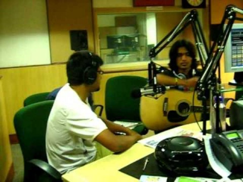 Bengaluru folk rock band at the Radio City studio in Mumbai in 2009