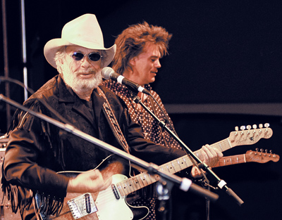 Merle Haggard. Photo by Donna Lasater