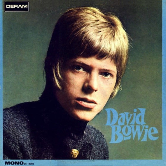 David Bowie'sself-titled debut album released in 1967.