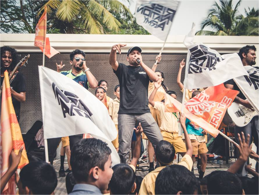 Organizer Varun Carvalho himself will perform at the festival with his band, The Rise Nation. Photo: Courtesy of the artist